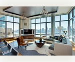 The most spectacular penthouse in Long Island City is now on the market. 3 beds/4 baths with private terrace &amp; balcony. Direct water &amp; city panoramic views. Simply magnificent!! 
