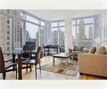 Furnished 1 Bedroom Corner apartment at The Centria Condo - Full service luxury doorman in the heart of Midtown