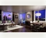 800sqft 1 Bedroom with One Month Free in Full Lux Residence at Intersection of Battery Park and Tribeca